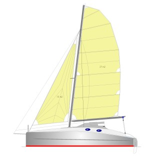 Catamaran Sailboat Boat Design